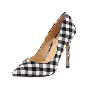 Shoes - Gingham Pumps